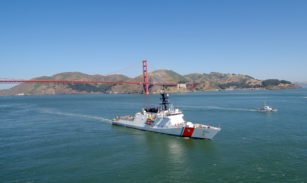 Video of the USCGC Bertholf