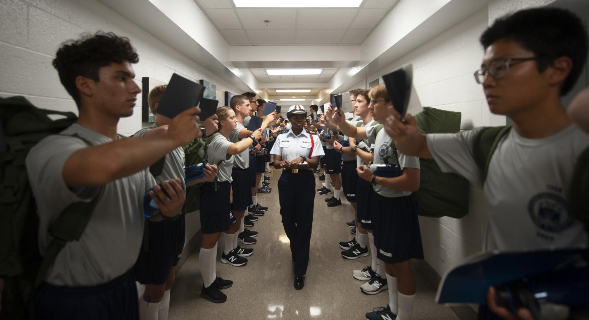 U.S. Coast Guard Academy welcomes Class of 2023