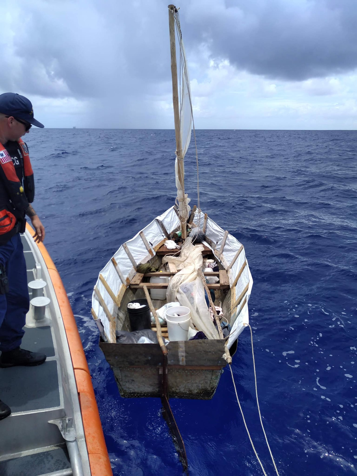Coast Guard interdicts 5 Cuban migrants 55 miles southwest of Marathon