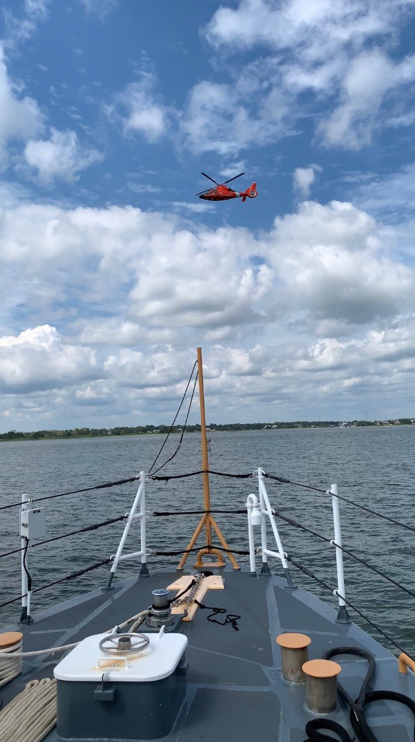 UPDATE: Coast Guard, partner agencies continue to search for missing boater in Charleston Harbor