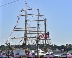 Coast Guard Cutter Eagle returns to New London