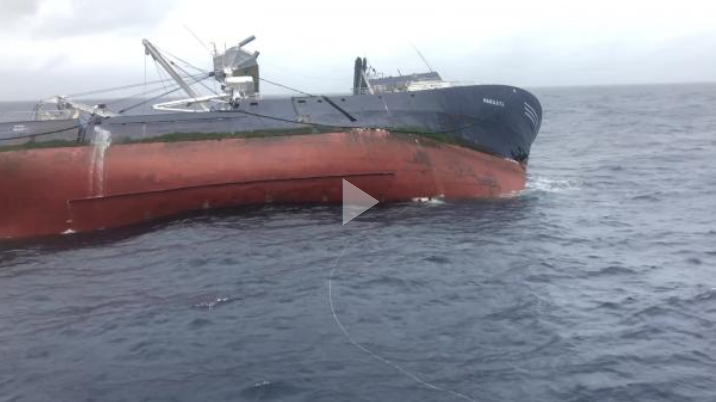 Coast Guard rescues 25 crew members from sinking vessel