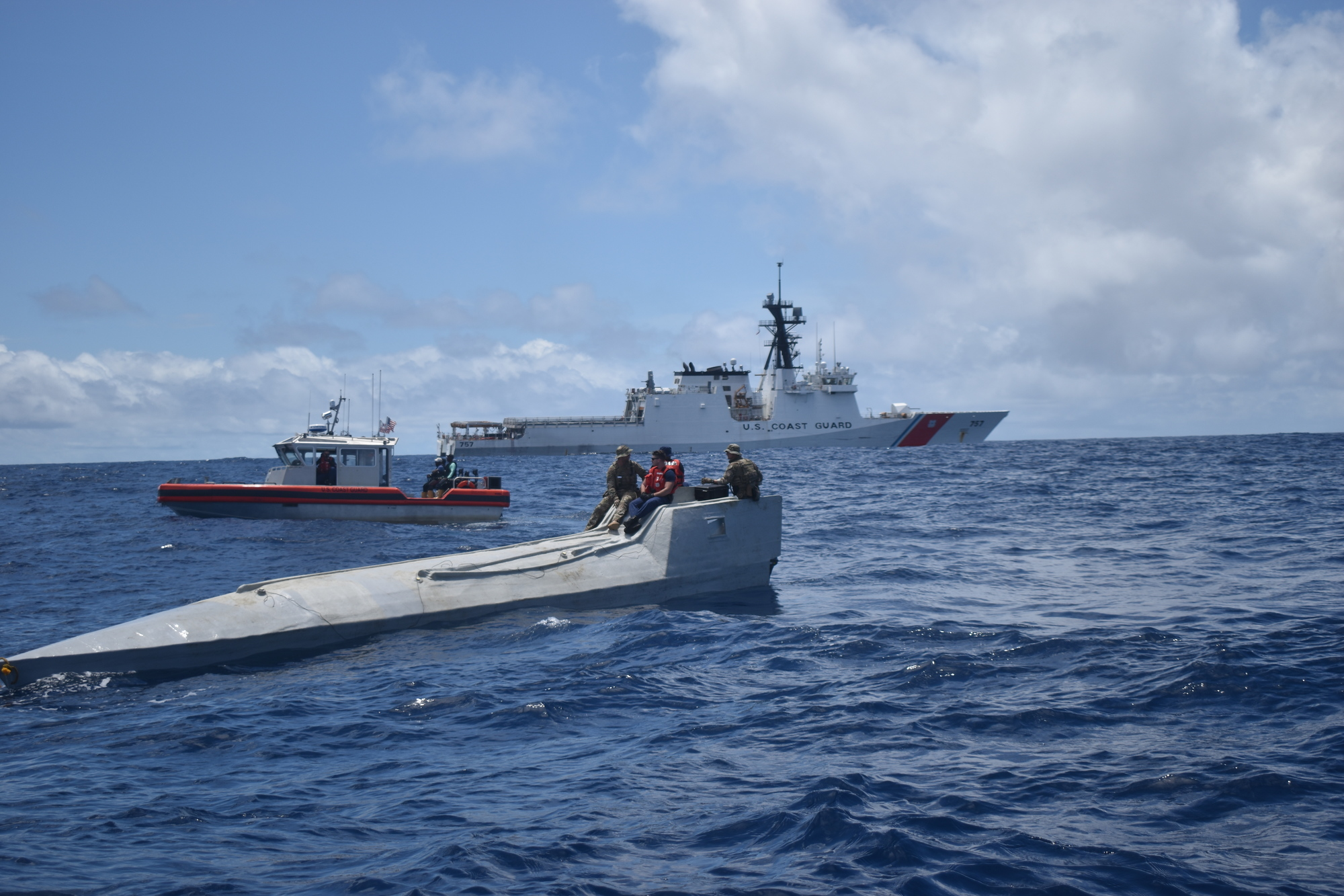 Coast Guard Cutter Midgett makes second cocaine seizure within five days, 4,600 pounds of cocaine interdicted