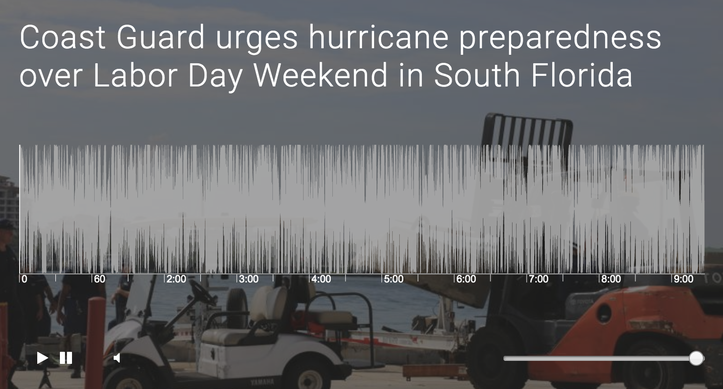Coast Guard urges hurricane preparedness over Labor Day Weekend in South Florida