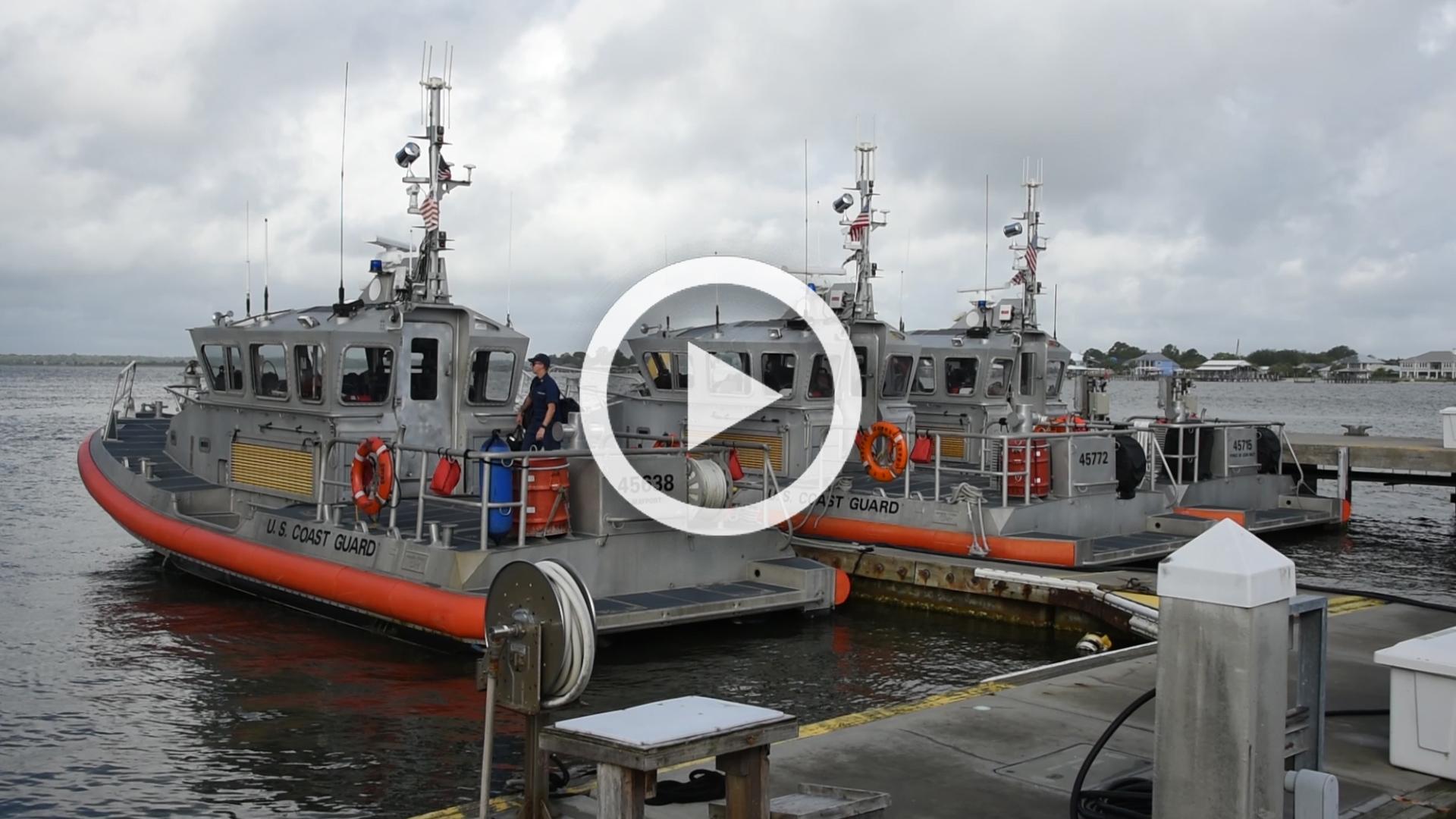 Hurricane Dorian Coast Guard Preparation B-Roll