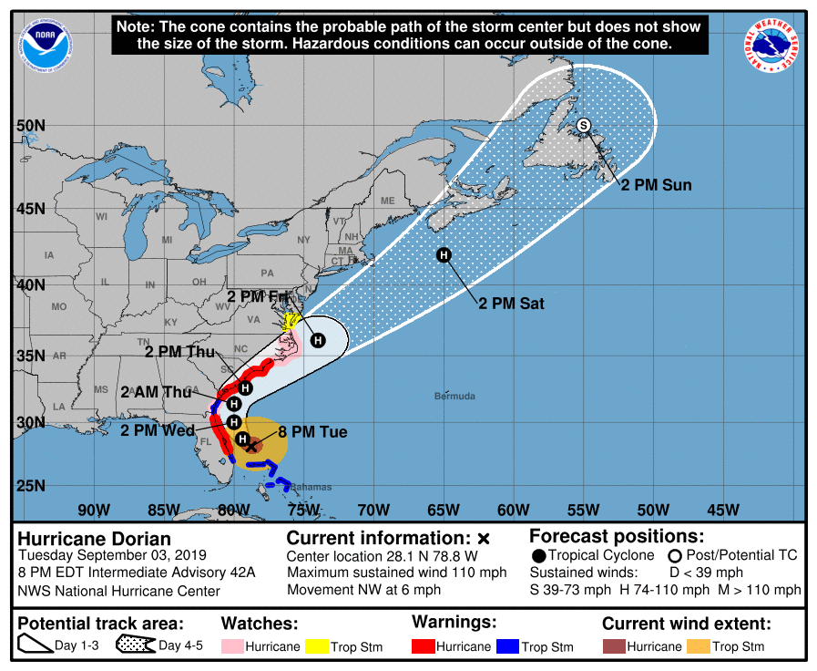 Hurricane Dorian