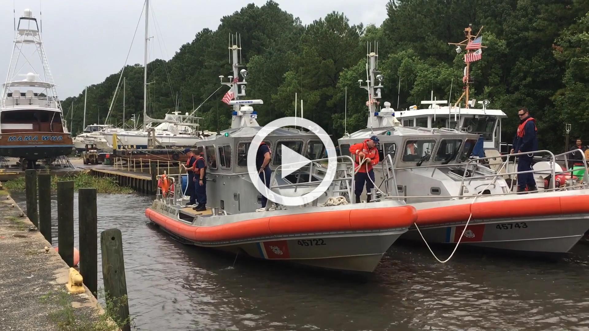 Sector Charleston Hurricane Preparations