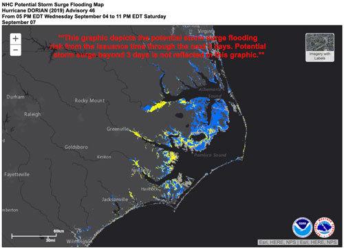 NHC Flood Forecast