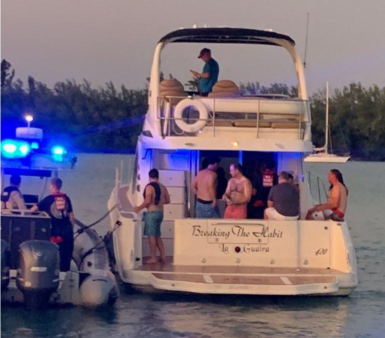 Coast Guard halts illegal charter in Miami