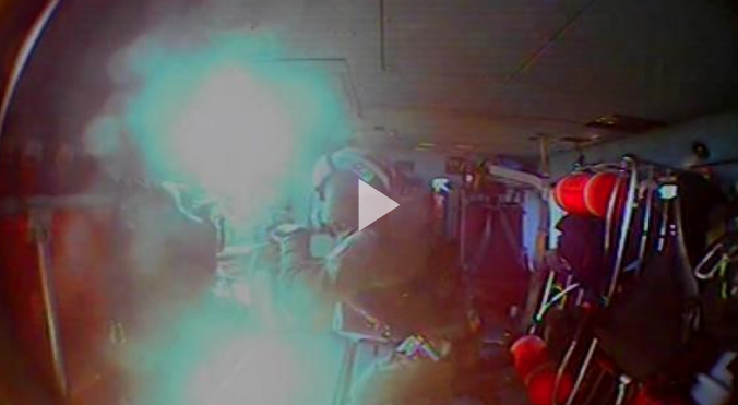 Coast Guard rescues 2 pilots from helicopter crash