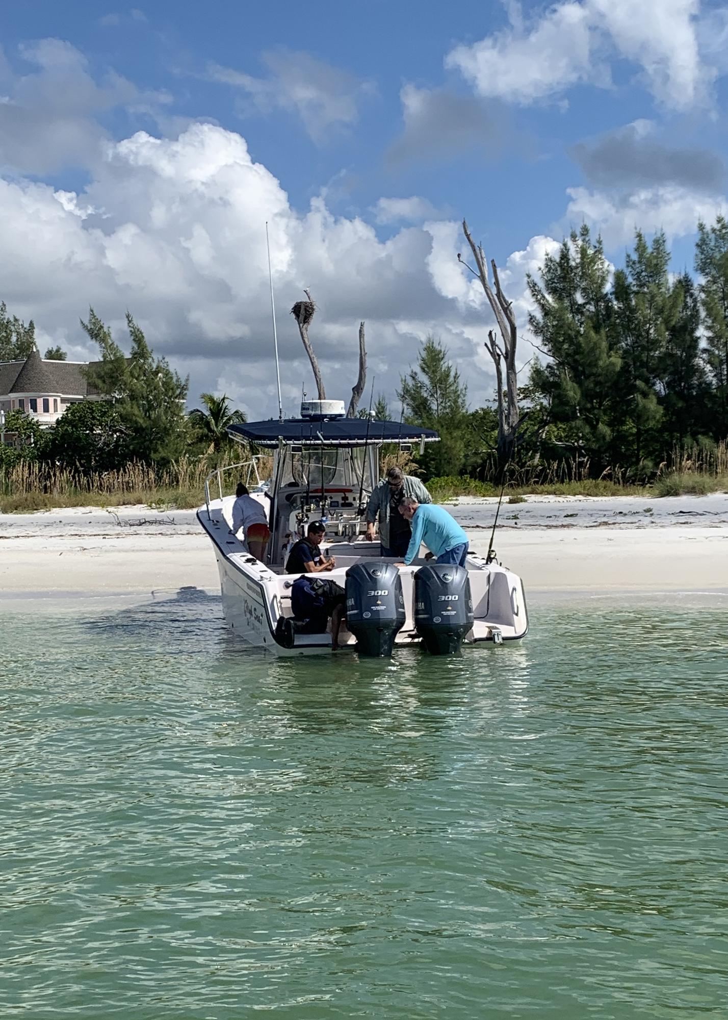 Coast Guard assists 3 near Redfish Pass, Florida