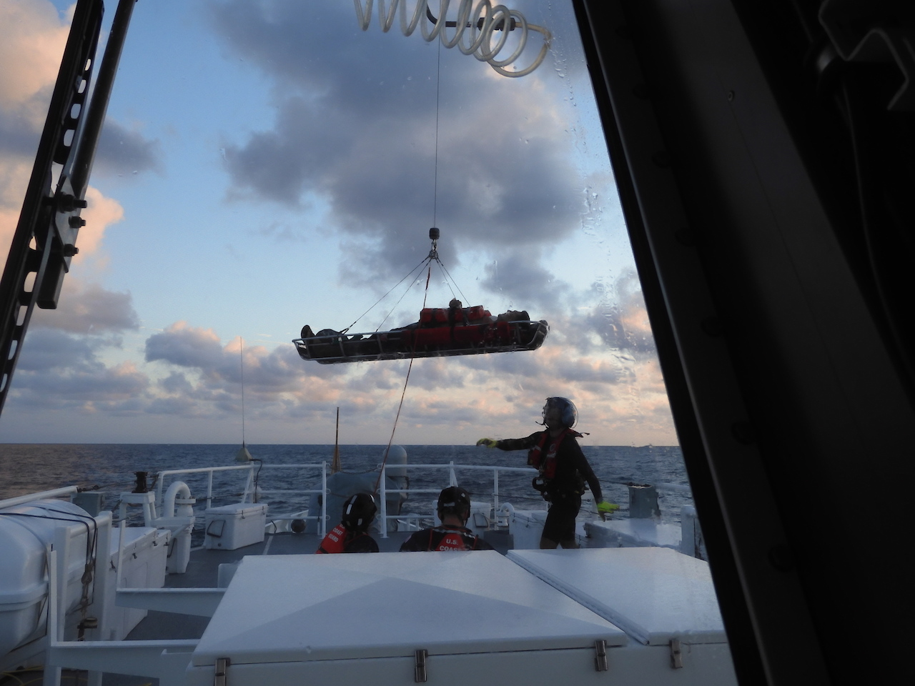 Coast Guard medevacs vessel operator after boat collision 35 miles northwest of Dry Tortugas