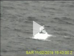 VIDEO RELEASE: Coast Guard assists vessel 25 miles west of Hernando Beach, Florida