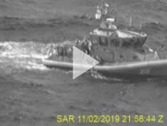 VIDEO RELEASE: Coast Guard rescues 2 divers 25 miles west of Egmont Key, Florida