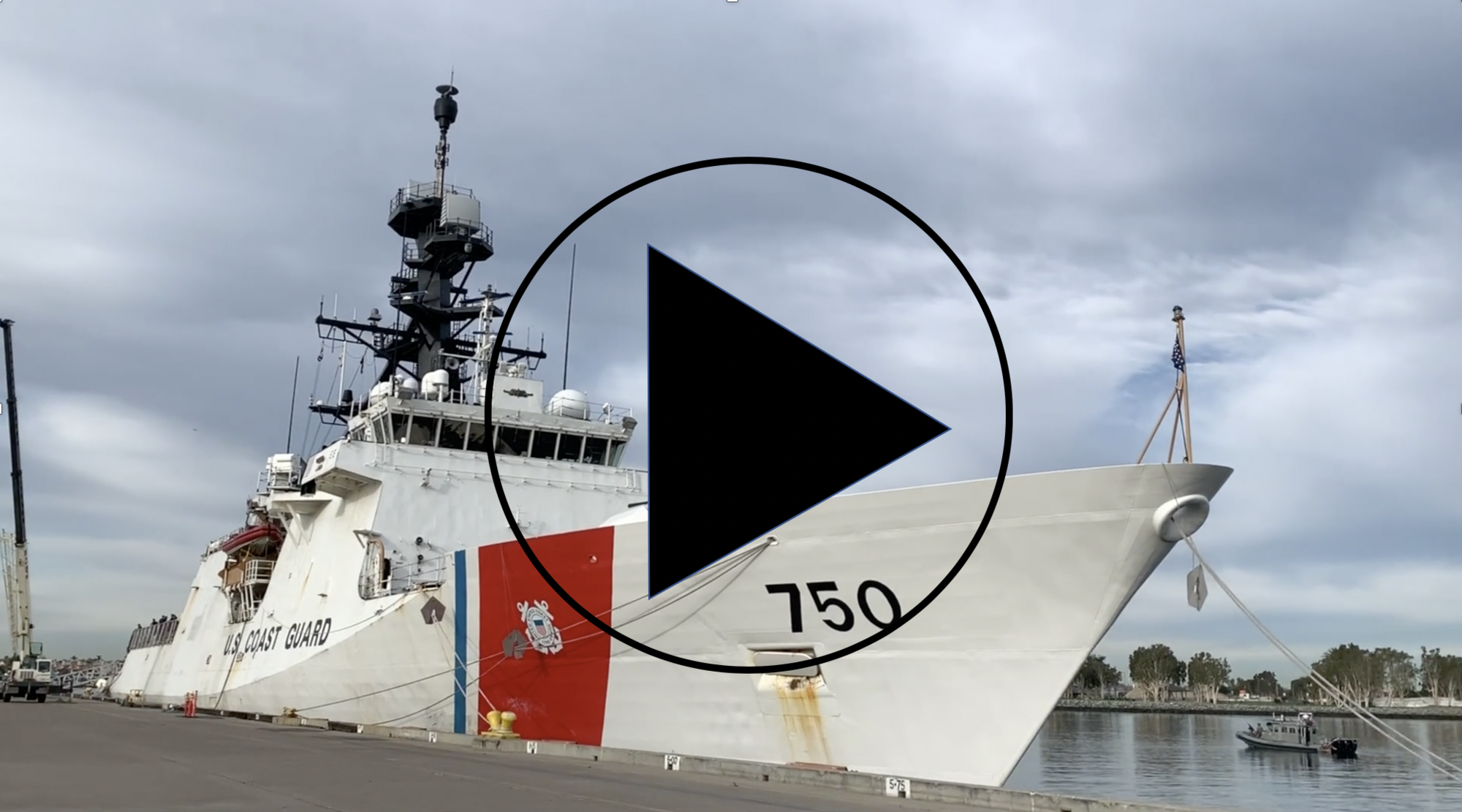 VIDEO: Coast Guard Cutter offloads $312 mil worth of cocaine in San Diego