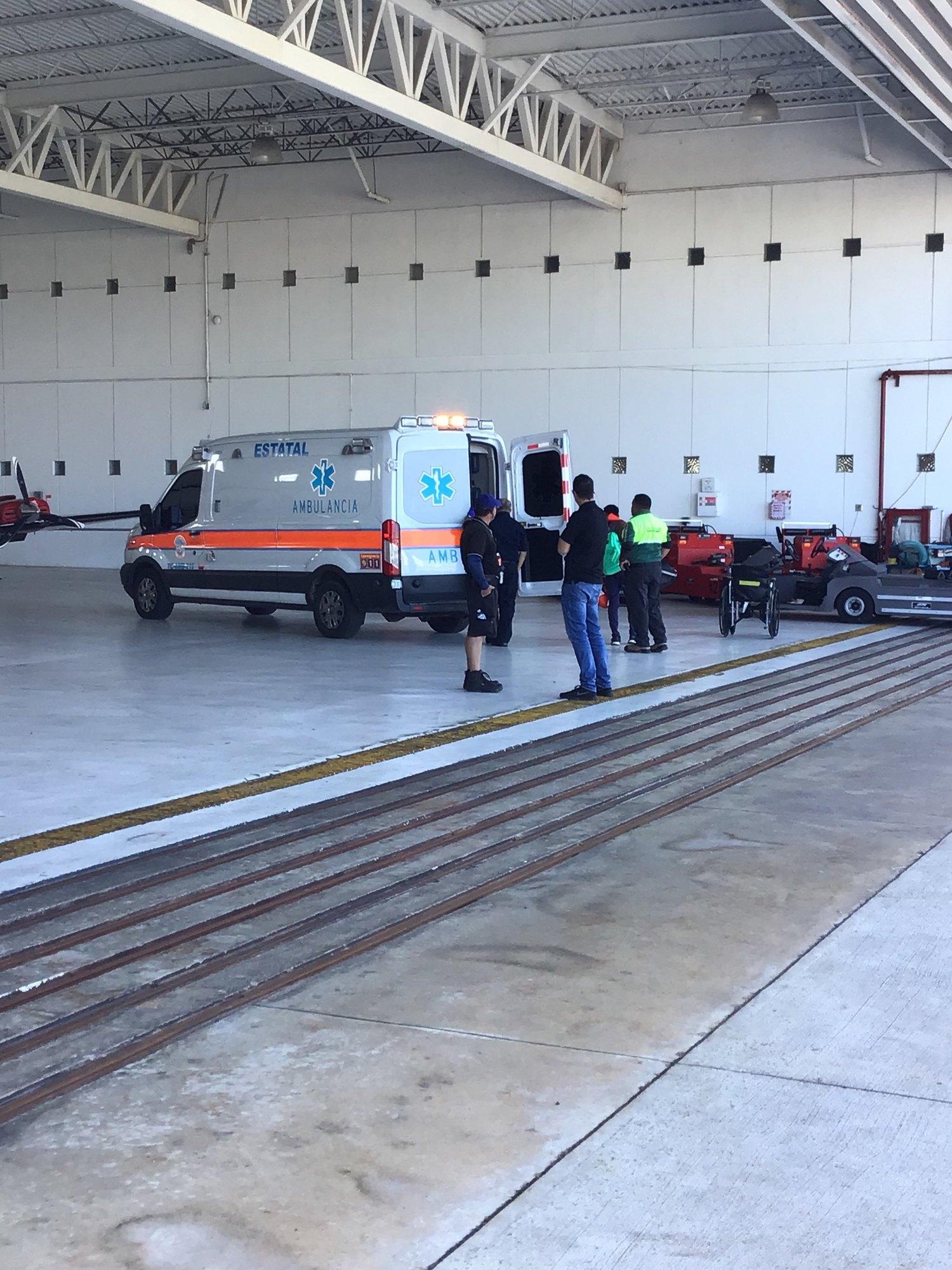 Coast Guard medevacs 34-year-old man 75 miles north of San Juan
