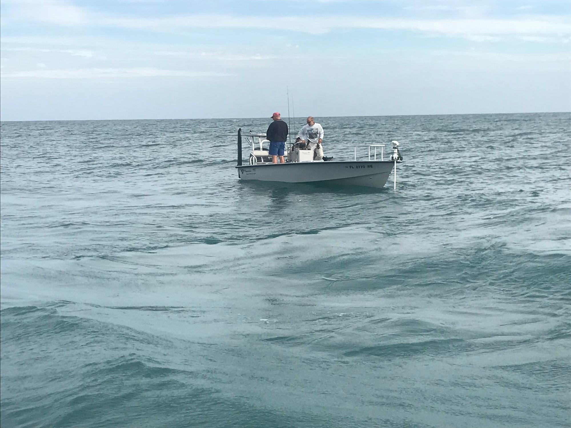 Coast Guard halts illegal charter operation near near Hutchinson Island