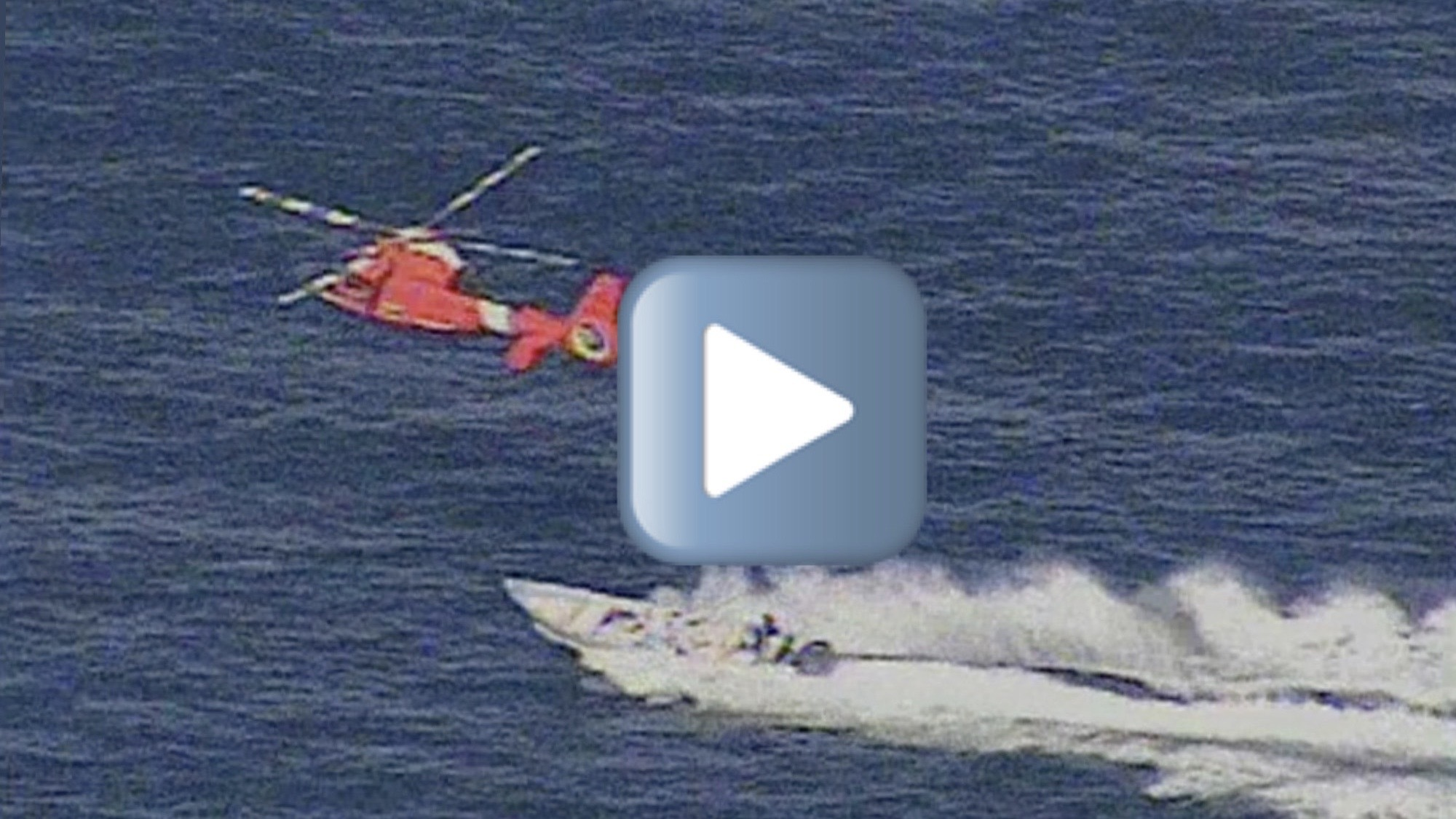 Coast Guard intercepts suspected cocaine smugglers
