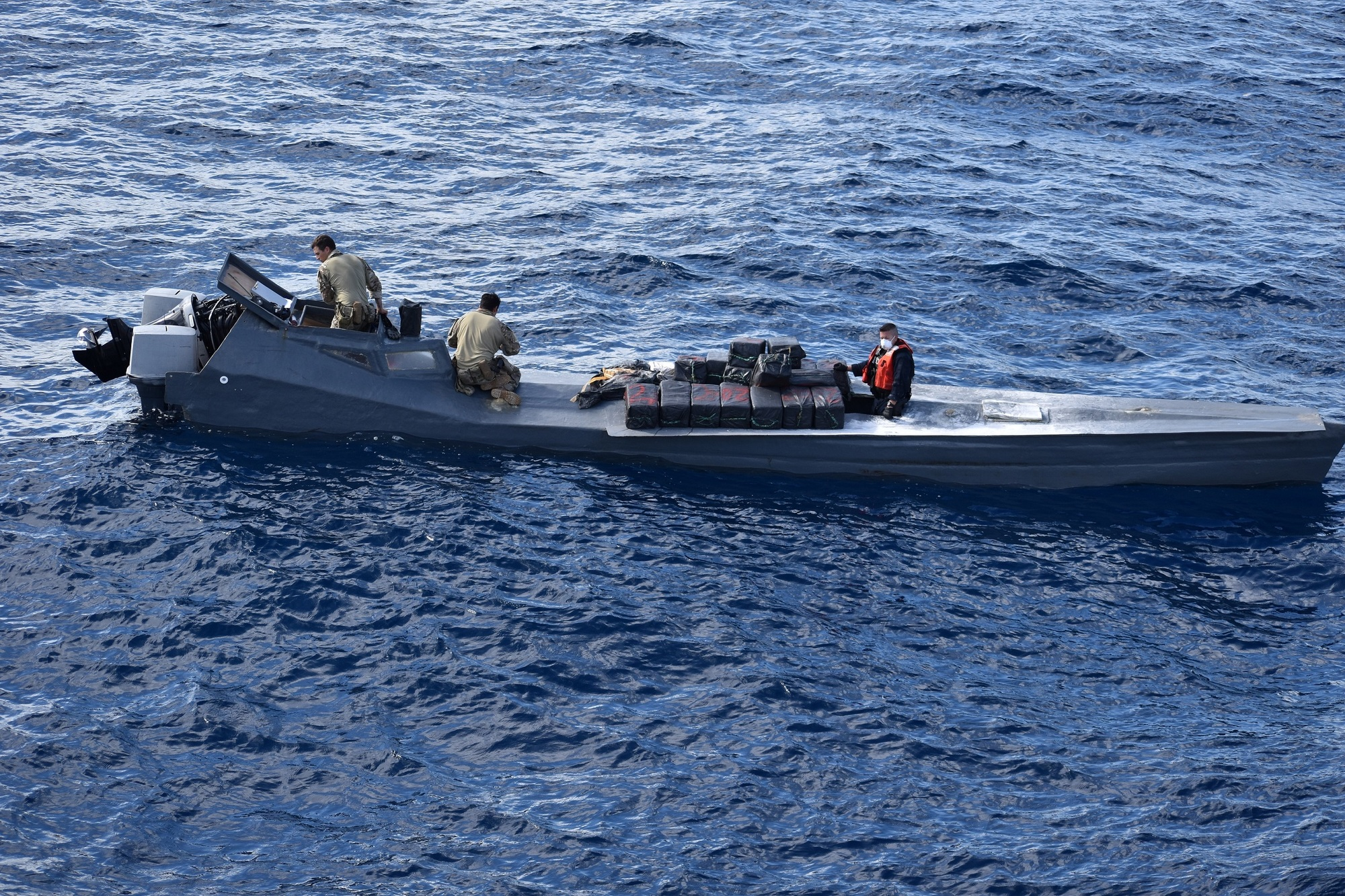 PHOTO RELEASE: Coast Guard Cutter Vigilant crew returns home after 55-day counter-drug patrol