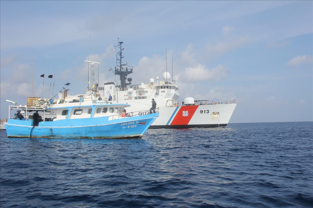 U.S. Coast Guard, international partners seize 1,700 pounds of cocaine off Central-American coast