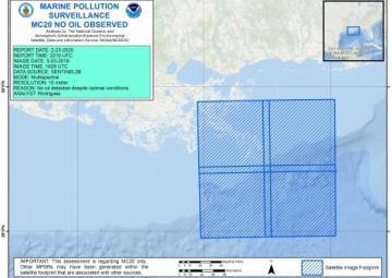 MC20 Marine Pollution Surveillance Report May 2019