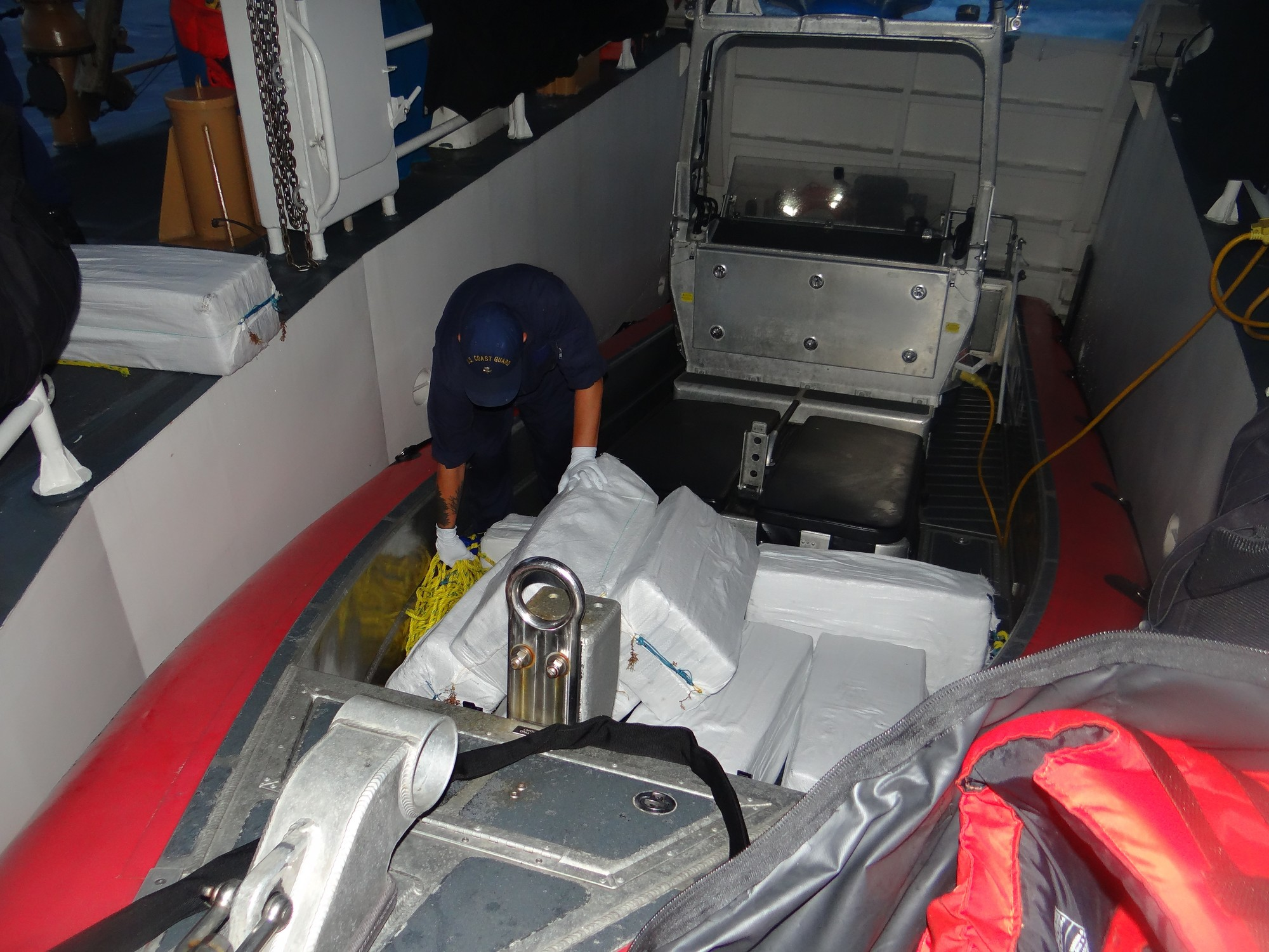 Coast Guard recovers 11 bales of adrift cocaine 10 miles southwest of Desecheo Island