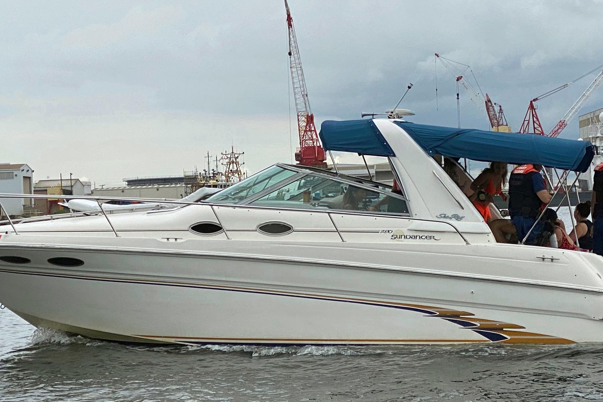 Coast Guard terminates illegal charter nearDavis Island