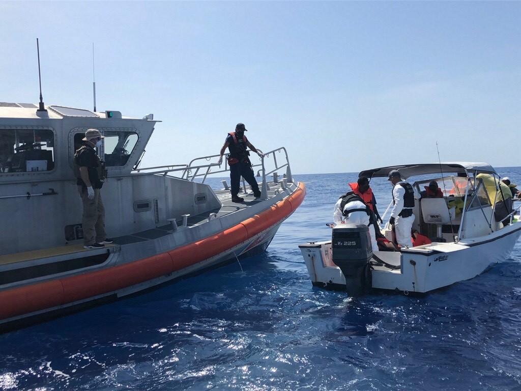 Coast Guard interdicts 14 Haitian migrants 26 miles east of St. Lucie