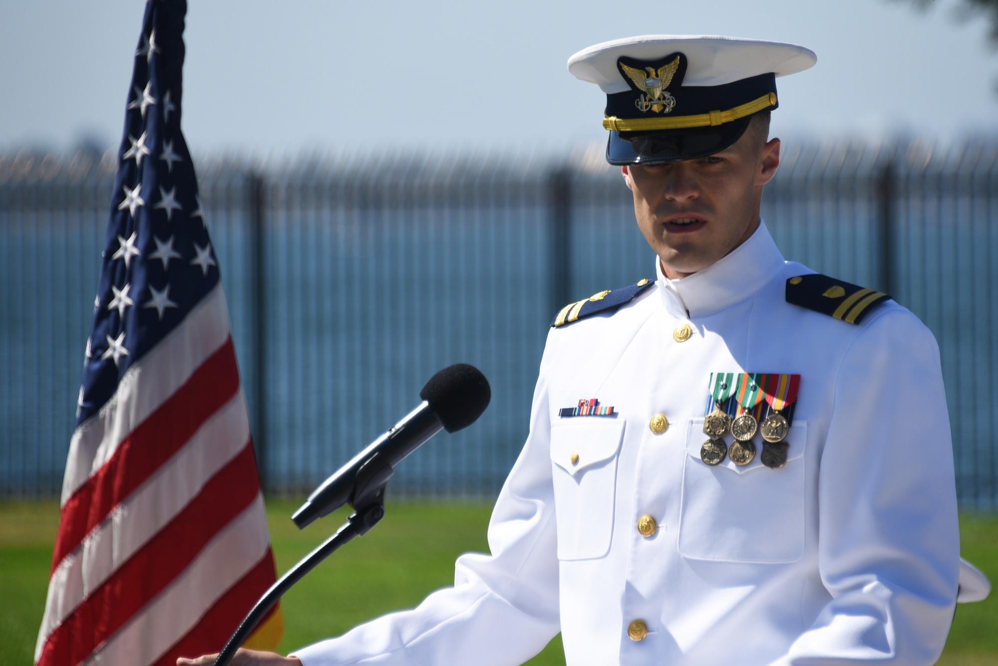 Coast Guard Cutter Haddock Change of Command