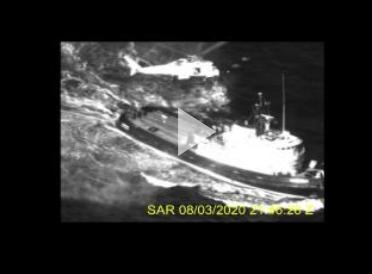 Coast Guard medevacs man near Puerto Rico