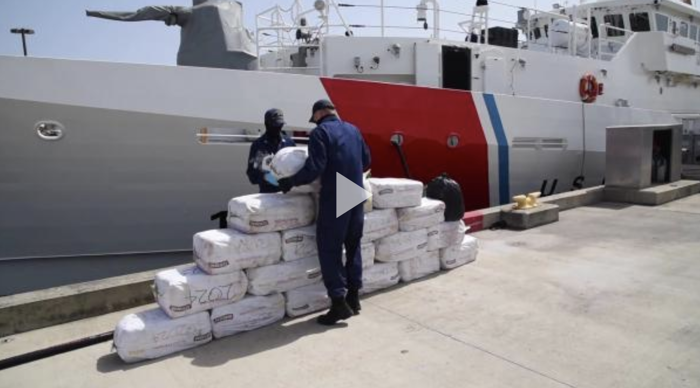 Coast Guard offloads $12 million of seized cocaine in Puerto Rico