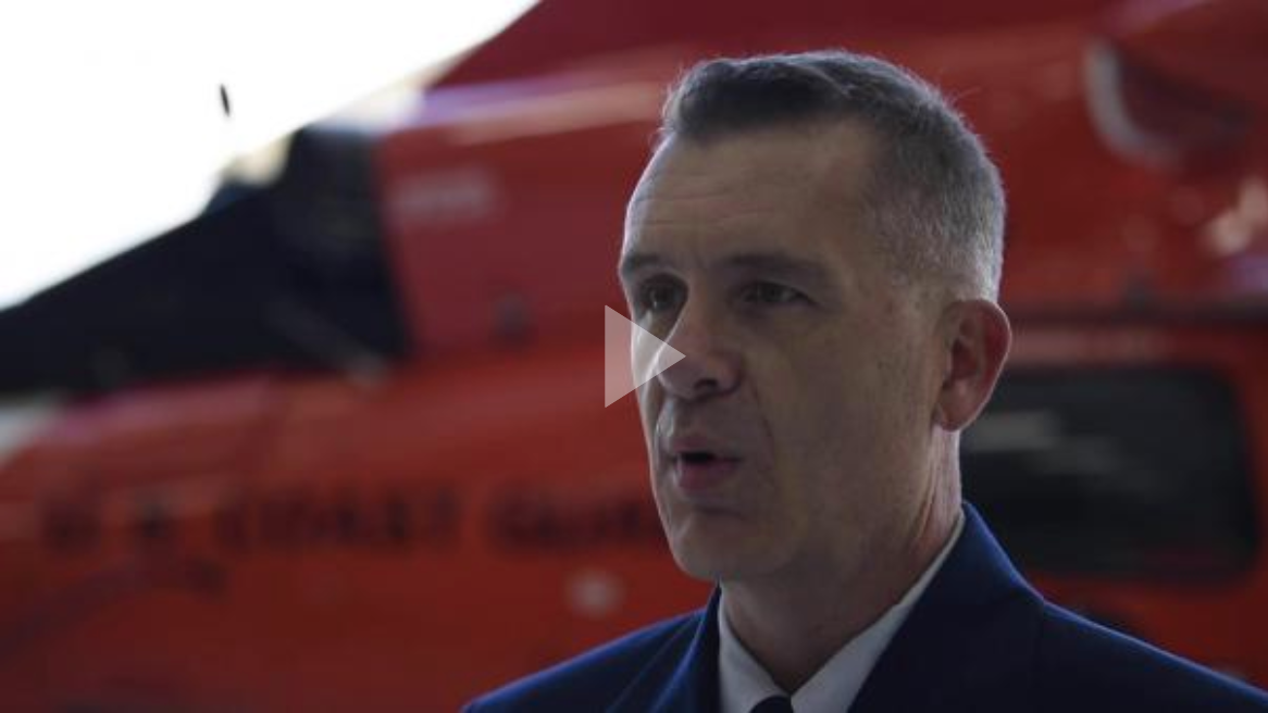 Coast Guard aircrew receives awards for rescue during Middle Fire