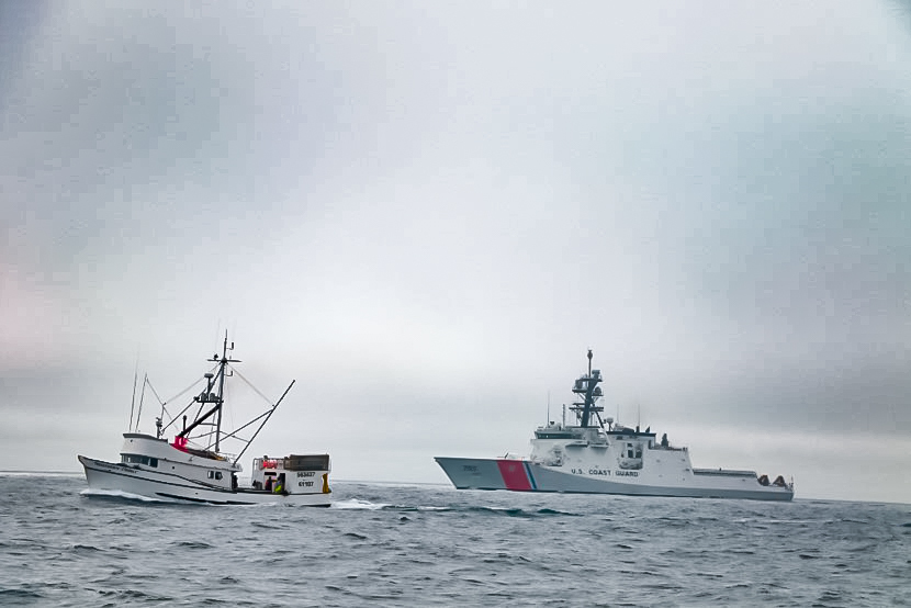 USCGC Munro Alaska Patrol (1)