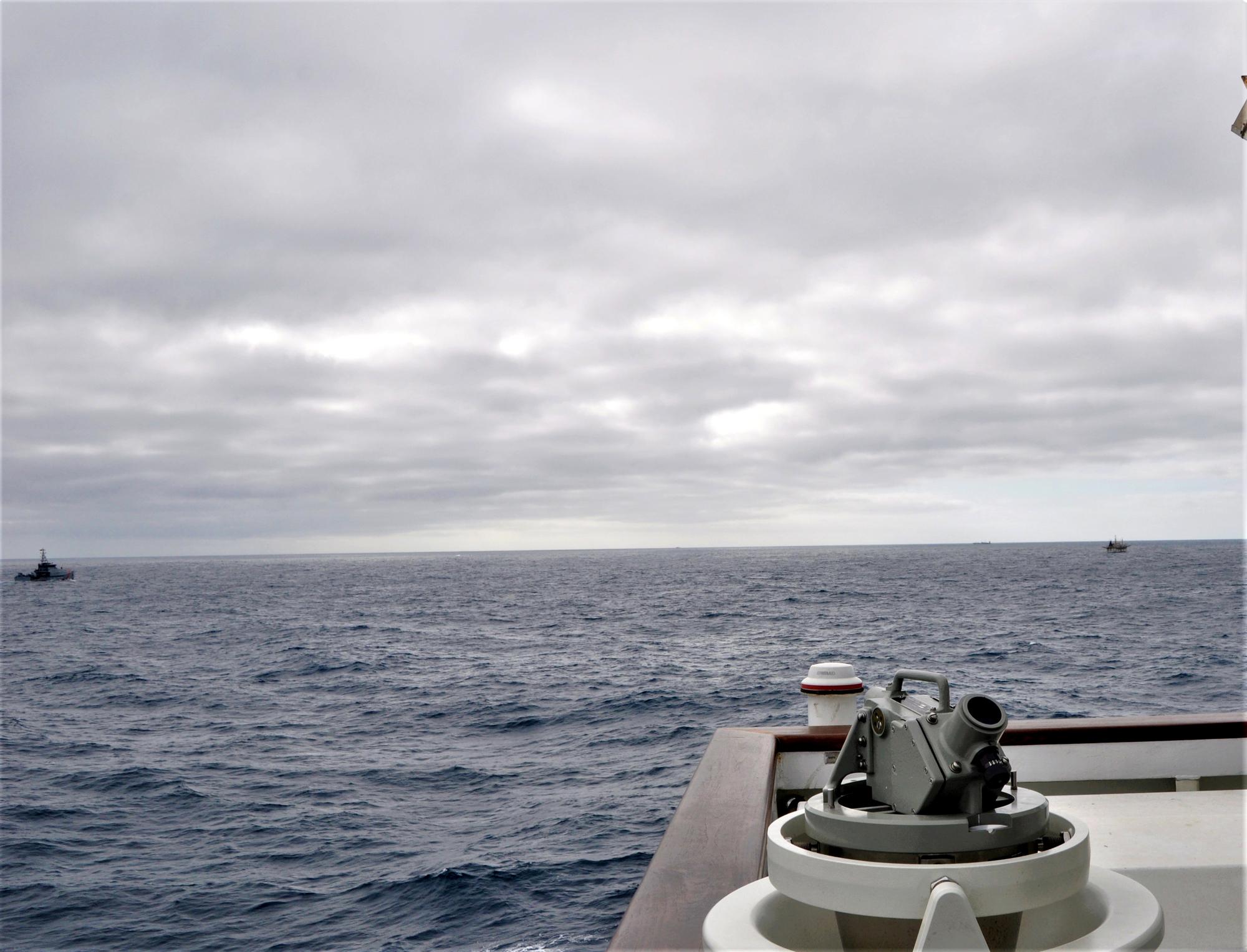 PHOTO: U.S. Coast Guard, Ecuadorian navy conduct joint patrol off Galapagos Islands