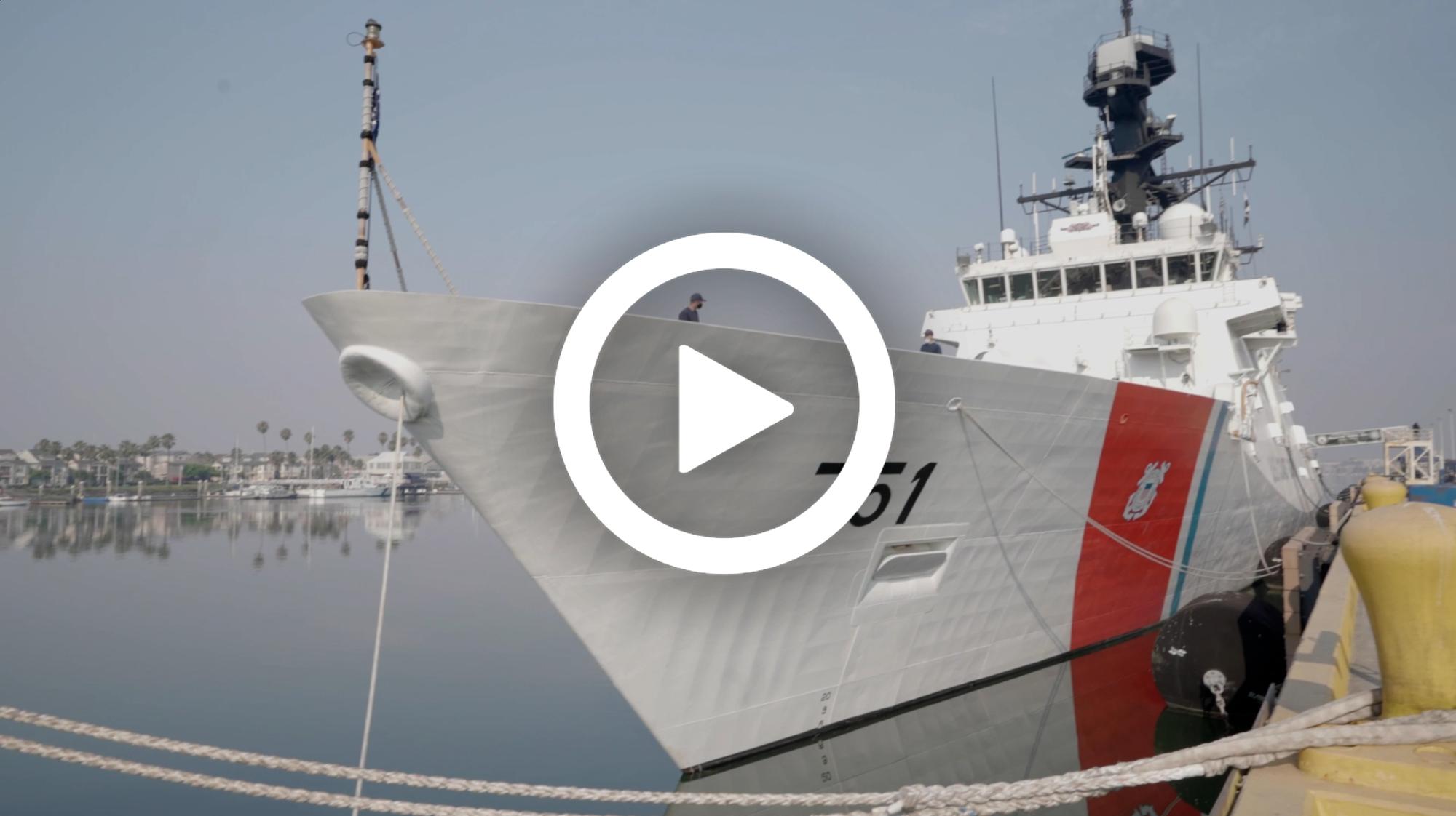 VIDEO: Alameda, California-based Coast Guard cutter departs for Western Pacific patrol