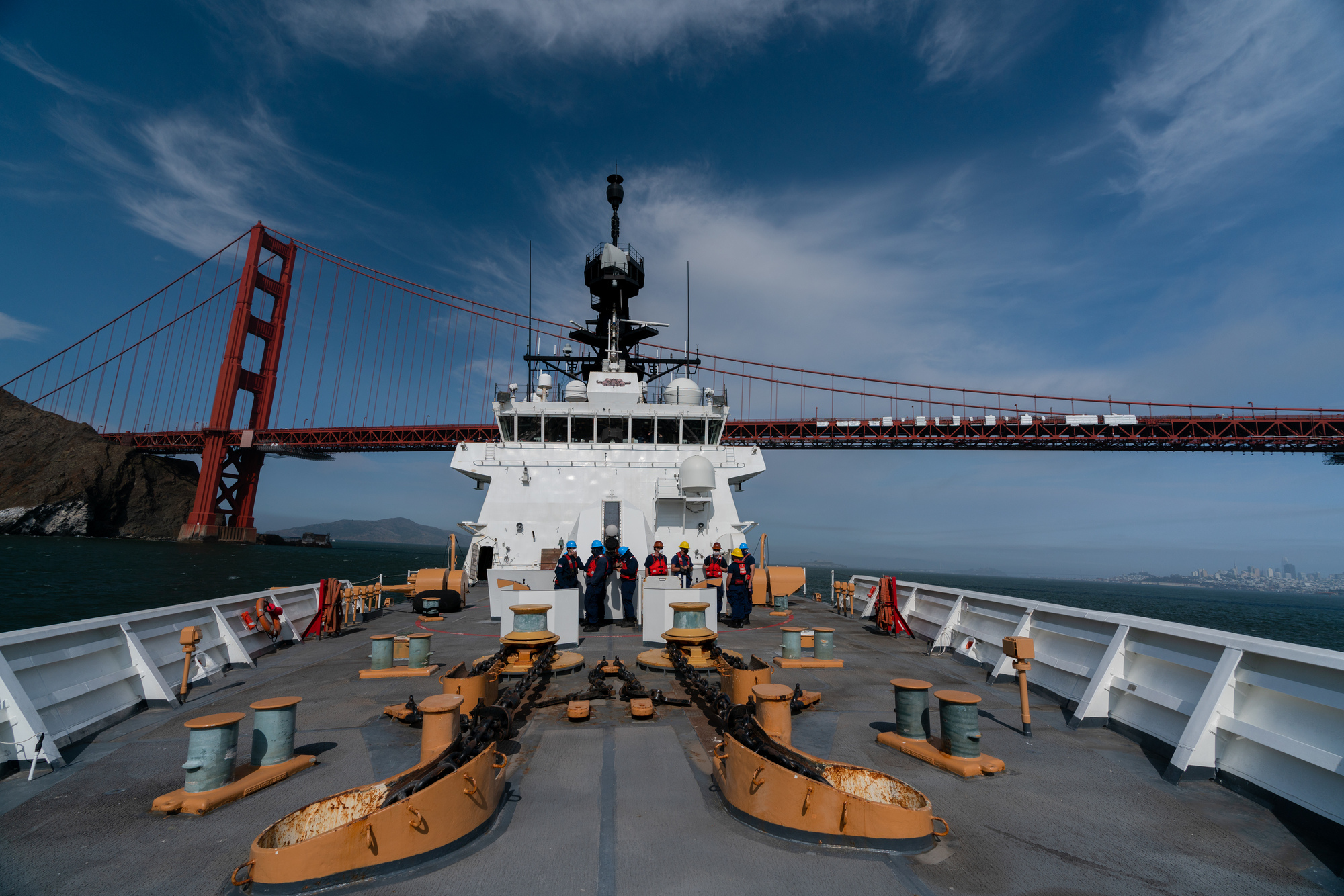 PHOTO: Alameda, California-based Coast Guard cutter departs for Western Pacific patrol