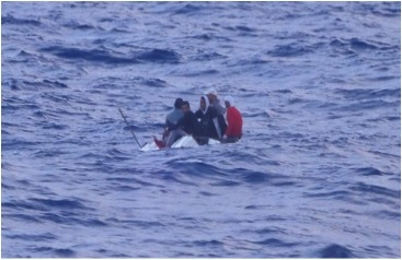 Coast Guard interdicts 5 Cuban migrants 35 miles south of Marathon