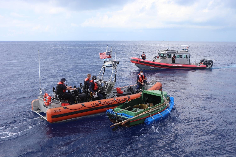 Coast Guard interdicts 9 Cuban migrants 10 miles south of Key Colony Beach