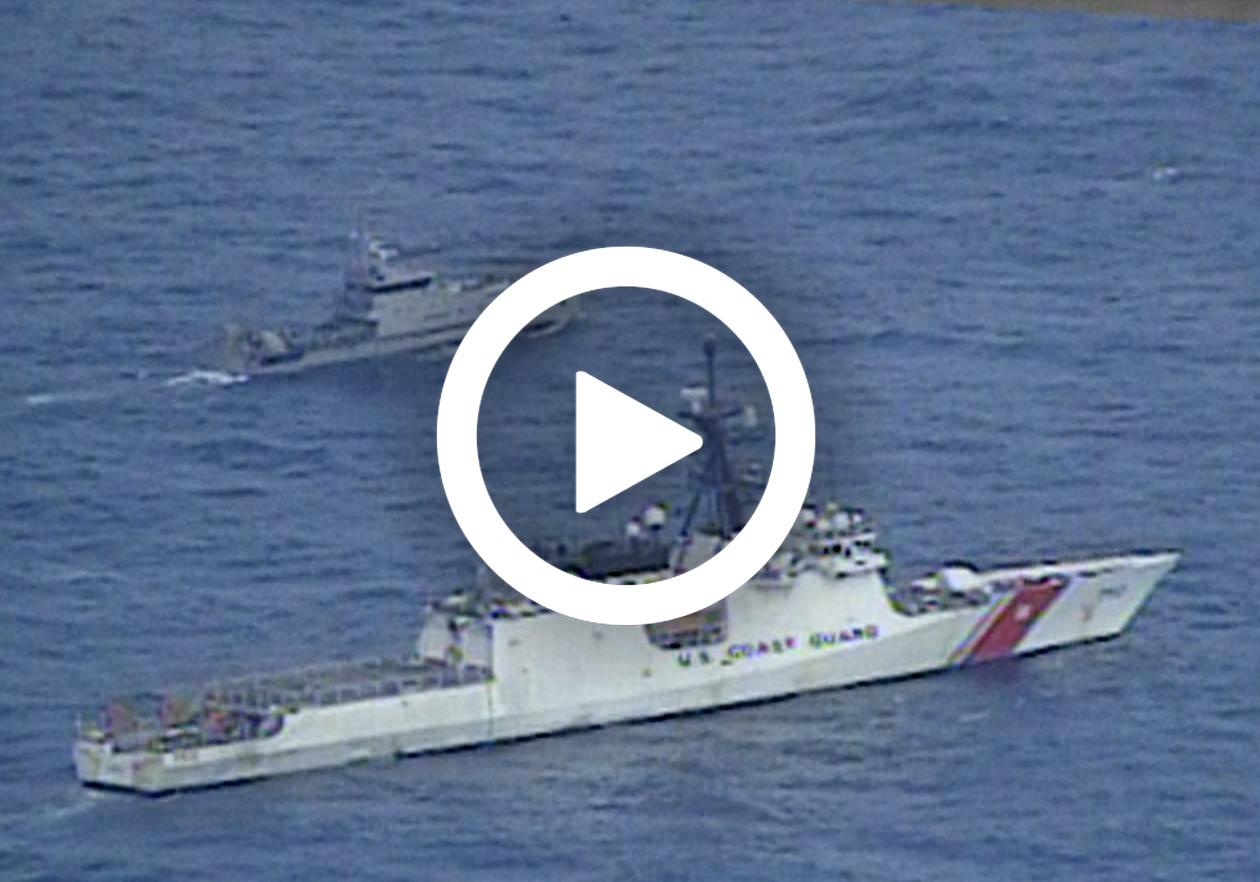 U.S. Coast Guard, Ecuadorian navy conduct joint patrol off Galapagos Islands