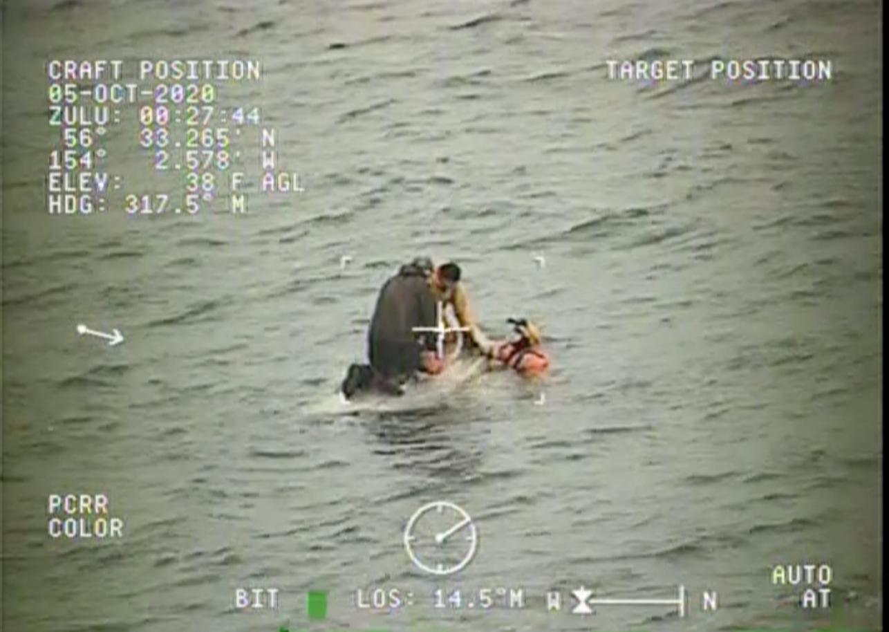 Coast Guard rescues 2 people in Sitkinak Lagoon, Alaska