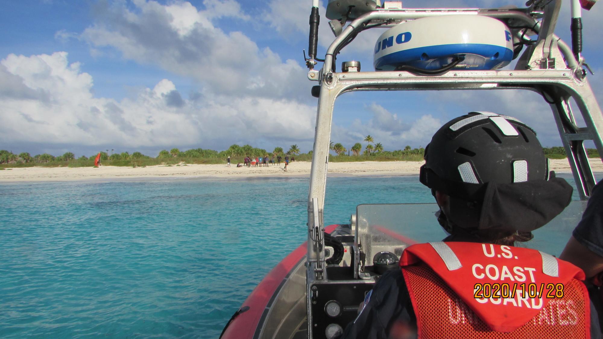 Coast Guard interdicts 22 illegal Cuban migrants at Cay Sal Bank