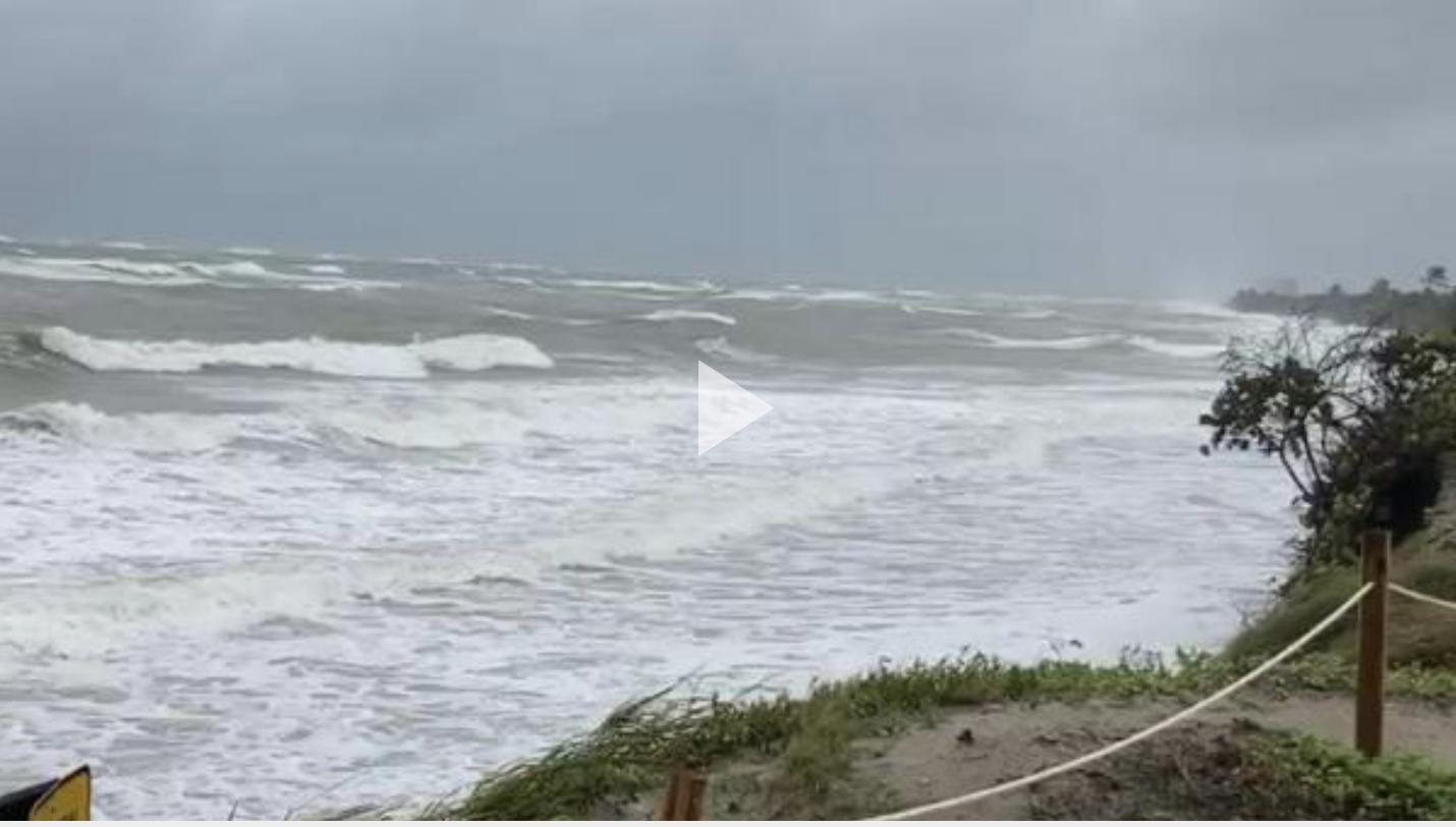 Tropical Storm Eta impacts Coast Guard Station Fort Lauderdale