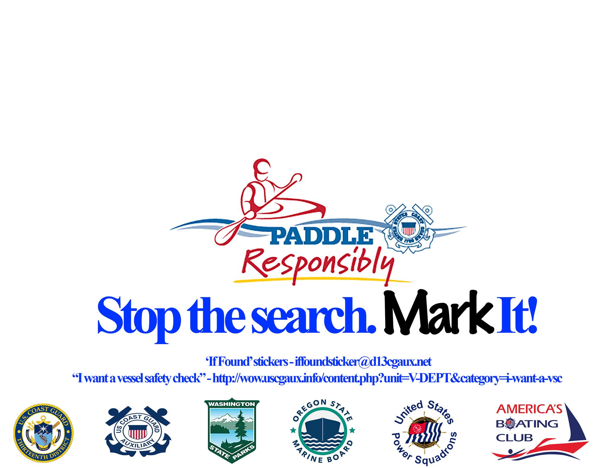 Paddle Smart PNW infographic