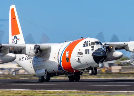 Coast Guard, partners search for missing mariners off Midway Island