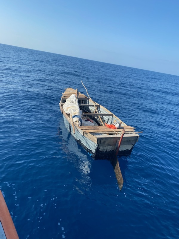 Coast Guard interdicts 8 Cuban migrants 23 miles south of Islamorada