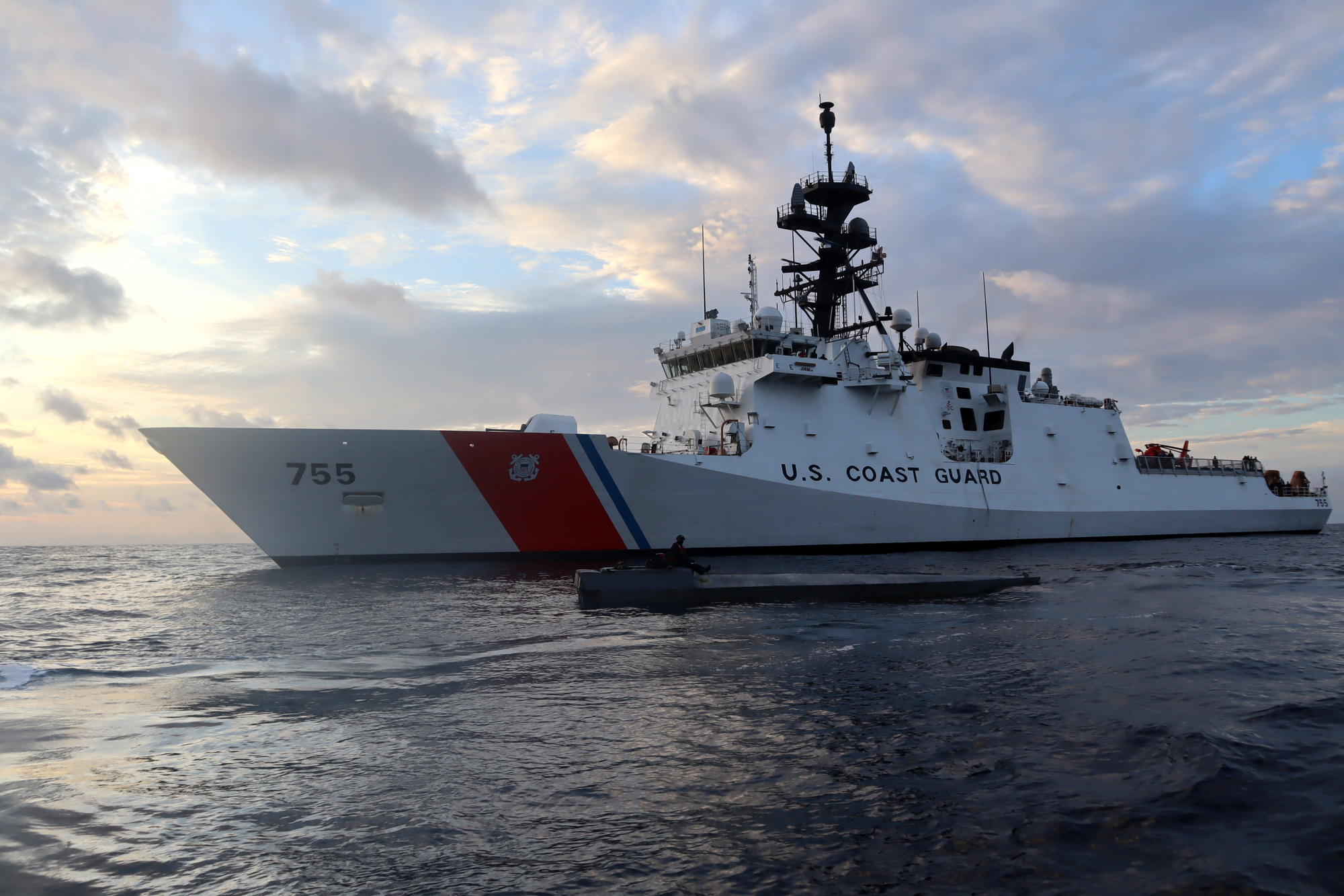Alameda Coast Guard cutter crews interdict three suspected smuggling vessels in Eastern Pacific; $156M worth of cocaine seized