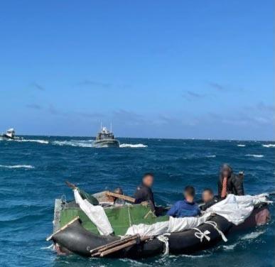 Coast Guard repatriates 5 migrants to Cuba