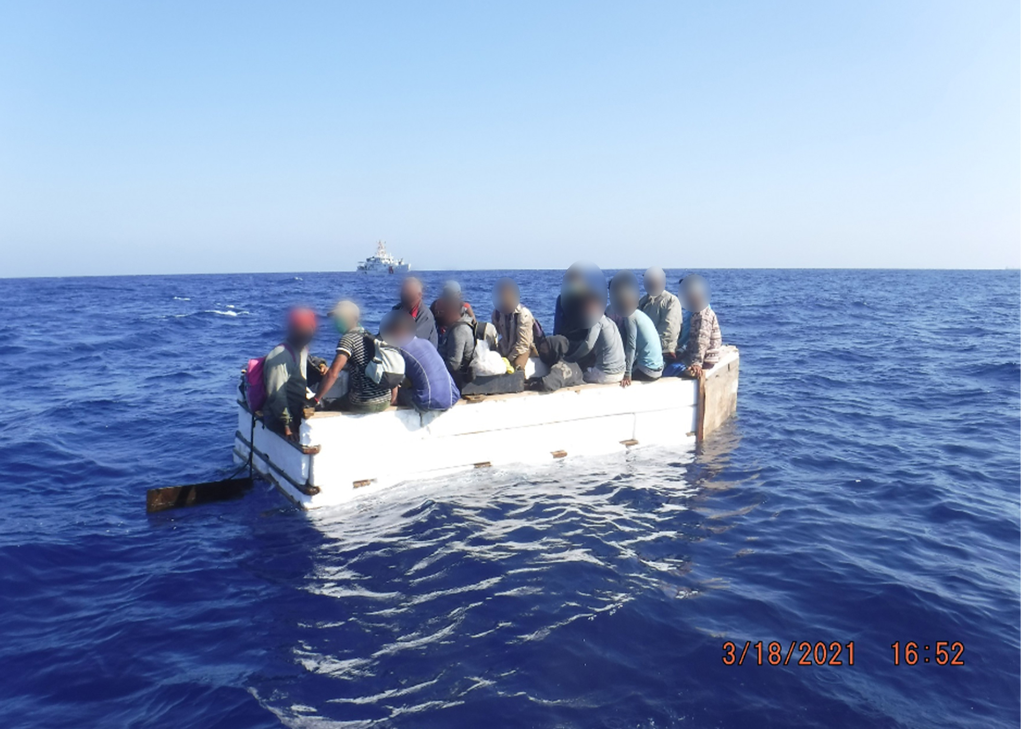 Coast Guard repatriates 17 migrants to Cuba