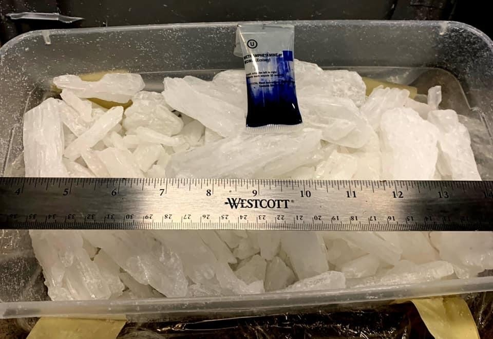 Methamphetamine seized near Port Angeles, Washington.. Photo provided by U.S. Customs and Border Protection