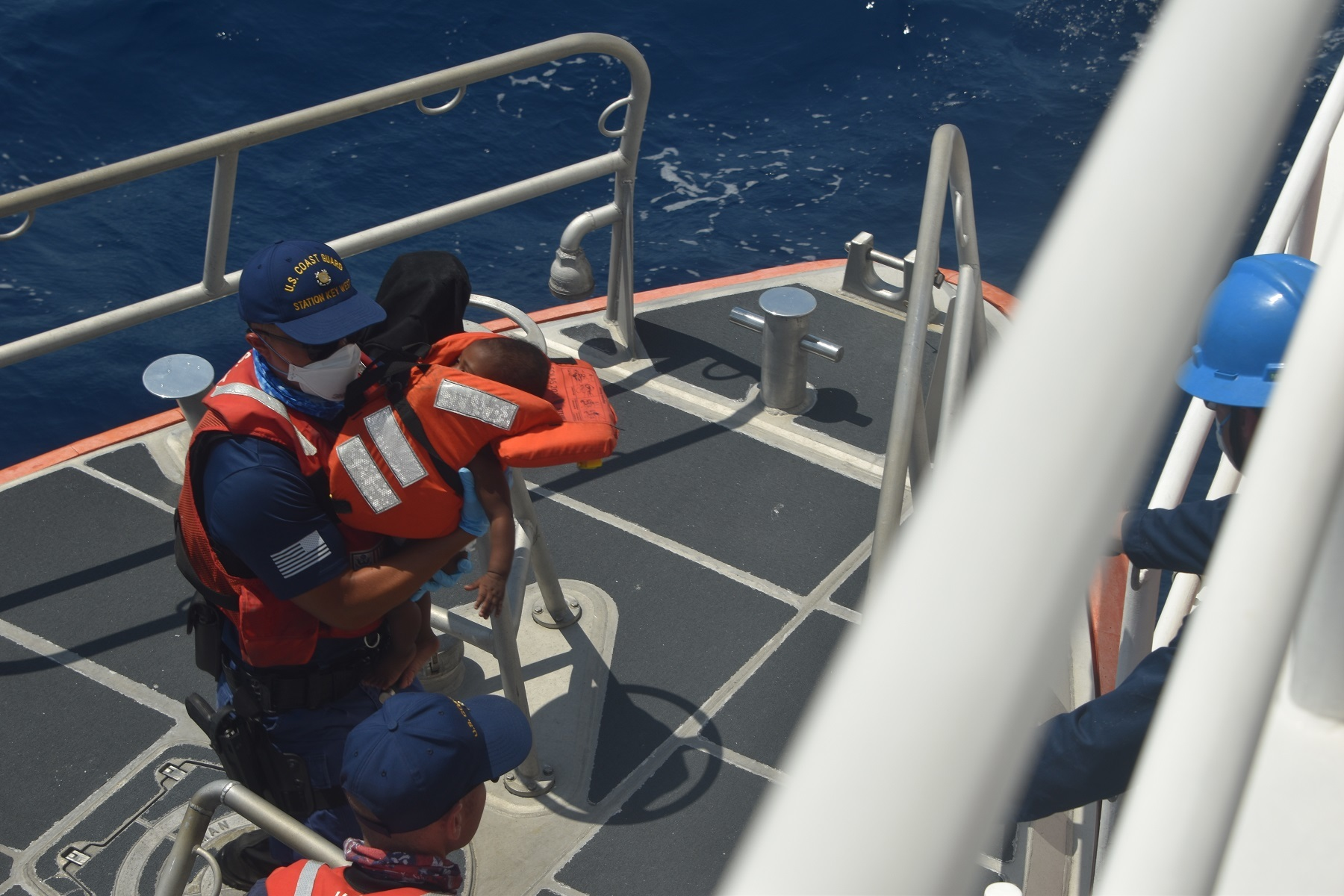 PHOTOS AVAILABLE: Coast Guard repatriates 74 migrants from 2 interdictions to Bahamas